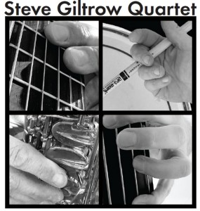 CD Cover - Steve Giltrow Quartet