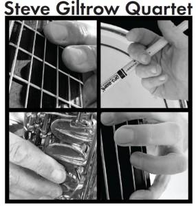 CD Cover - Steve Giltrow Quartet